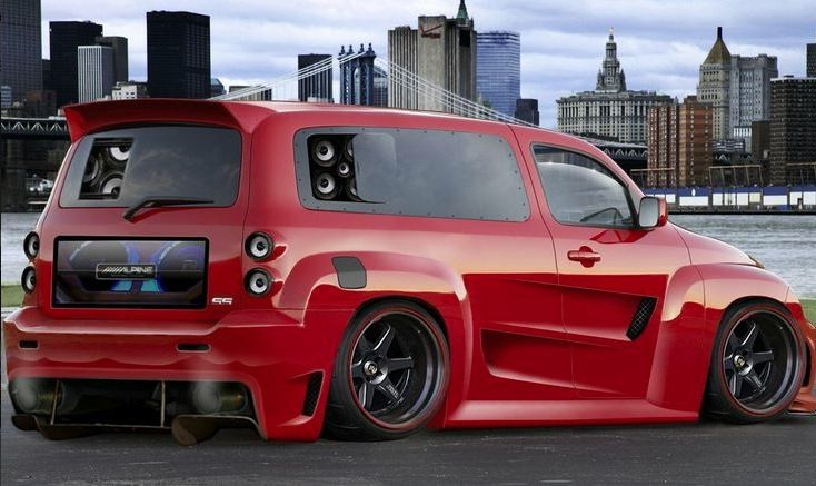 Hhr Mods Chevy Hhr Chevy Vehicles Custom Cars