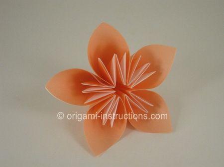14-origami-kusudama-flower Origami Kusudama Flower Step 8: Repeat