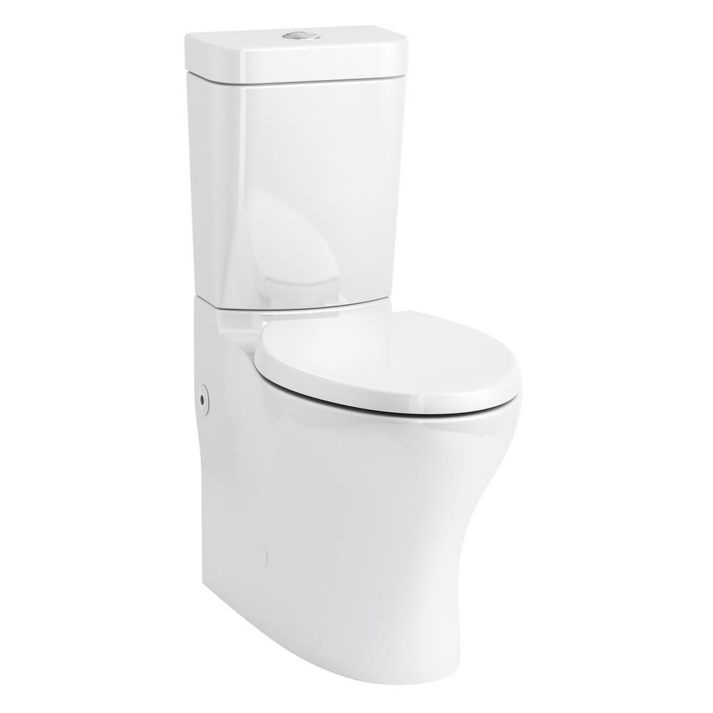 Kohler Persuade 2 Piece 1 0 1 6 Gpf Dual Flush Elongated Toilet In