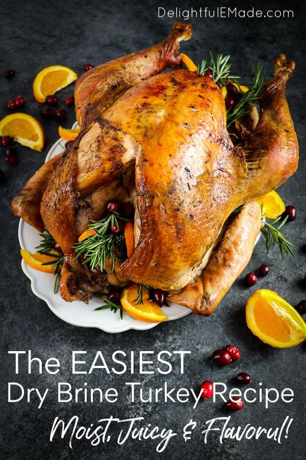 How to Dry Brine a Turkey the EASY Way {PS - THIS is how you make Thanksgiving AWESOME!}
