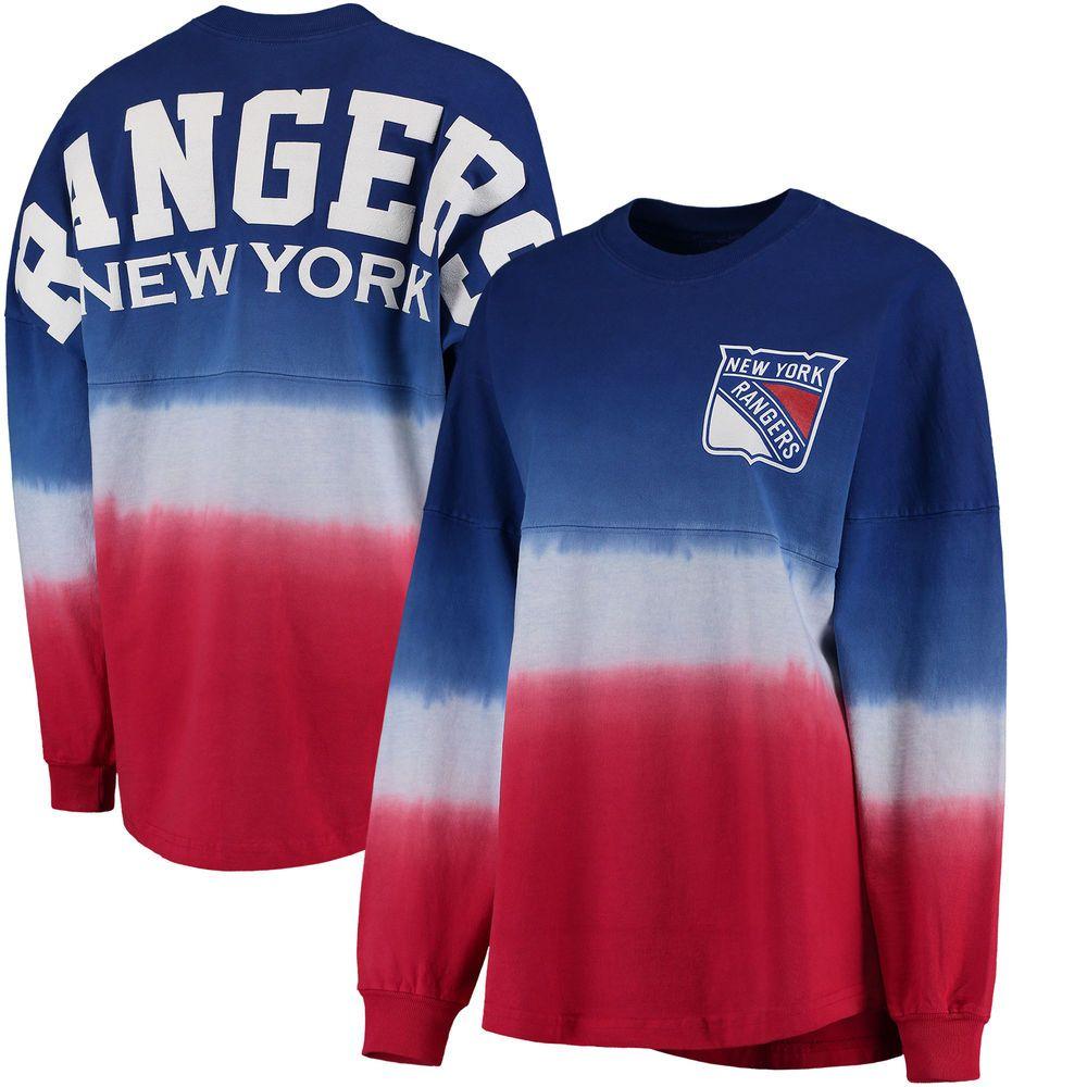 get cheap 59de8 c1933 Women's New York Rangers Fanatics Branded Royal/Red Ombre ...