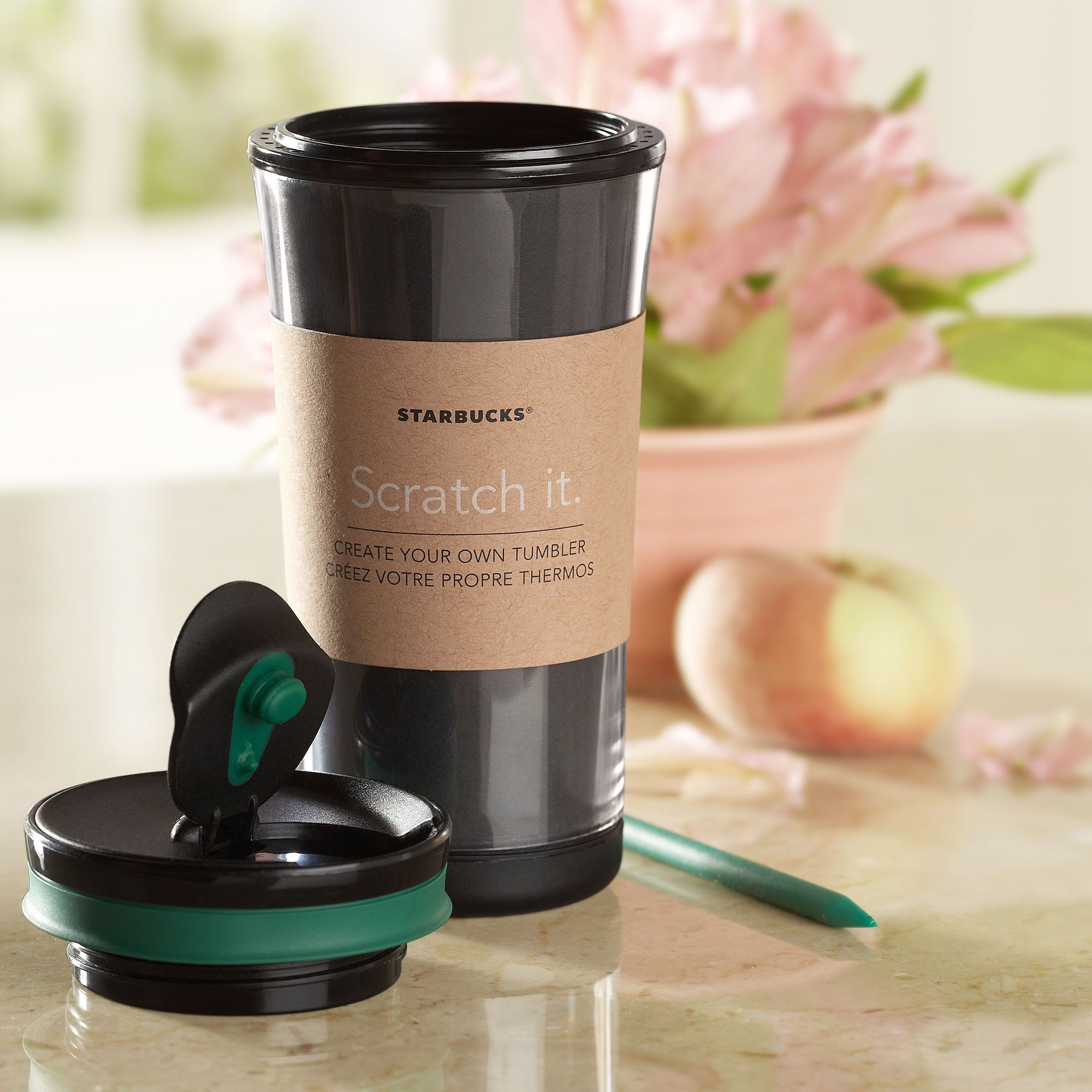 Create your own scratch tumbler 8 fl oz a customizable tumbler create your own scratch tumbler 8 fl oz a customizable tumbler with scratch starbucks pronofoot35fo Choice Image