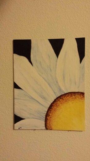 Acrylic Daisy