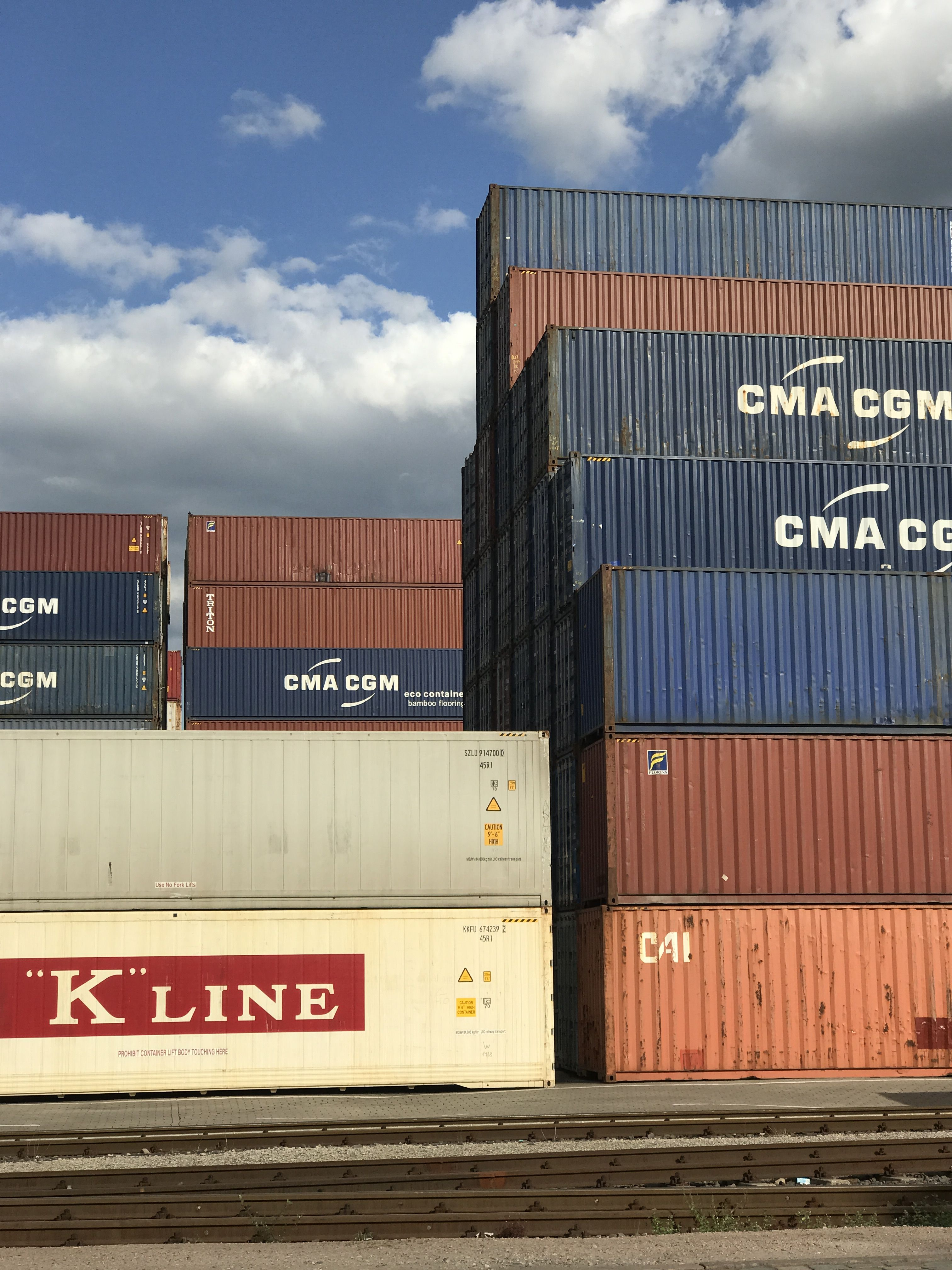 Love this Container Location in Hamburg