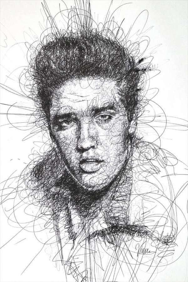 Scribble Drawing : Scribble drawing by vince low pinterest