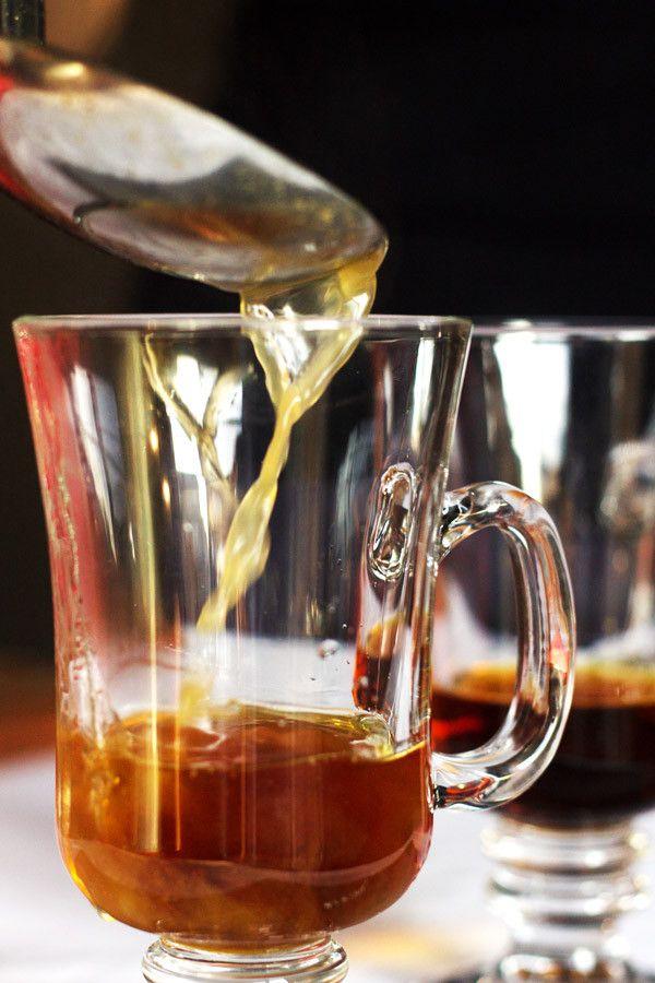 Hot Spiked Apple Cider Recipe with a Mediterranean Twist #spikedapplecider