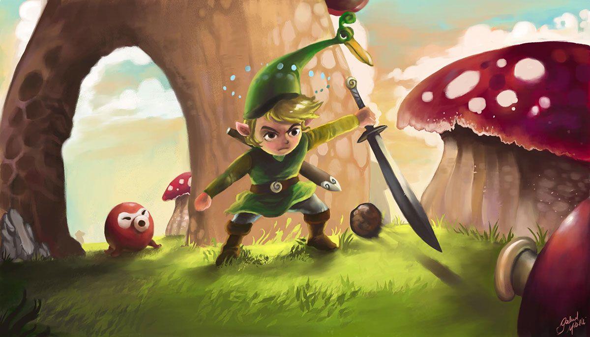 The Legend of Zelda: The Minish Cap Fanart
