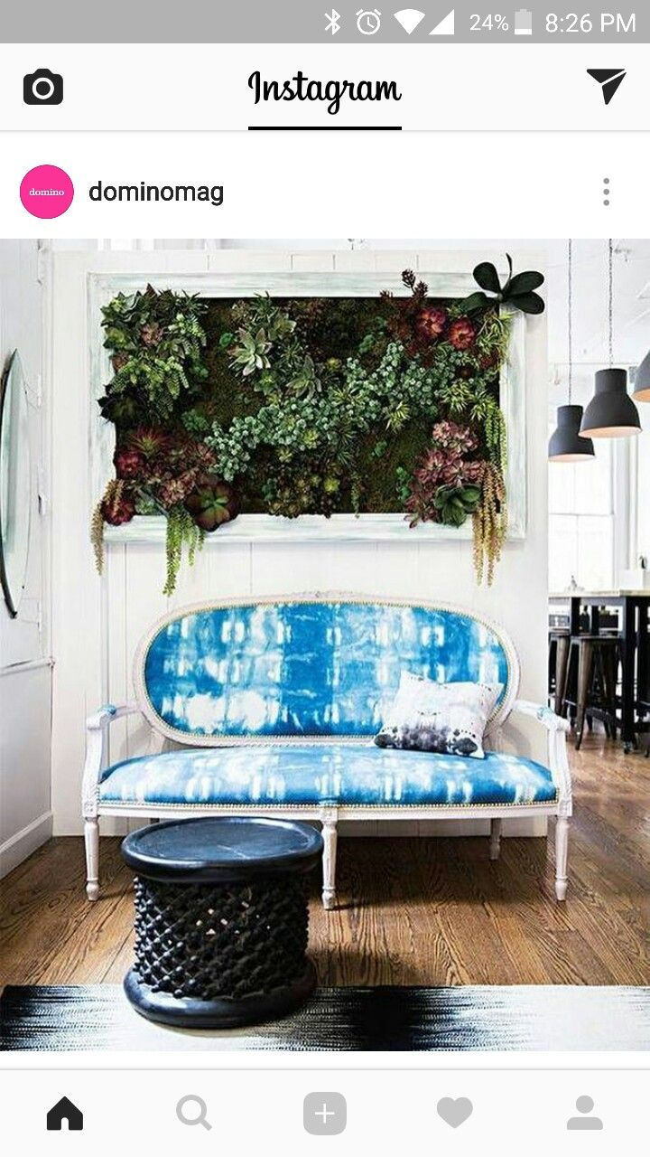 Love this living wall art