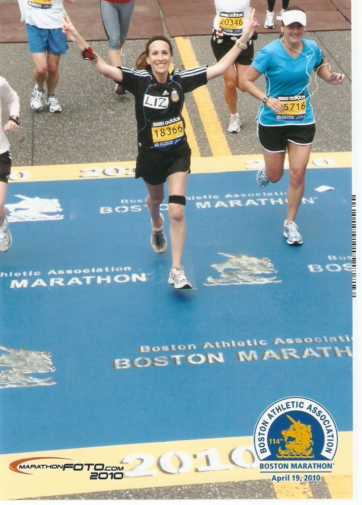Boston marathon date in Melbourne