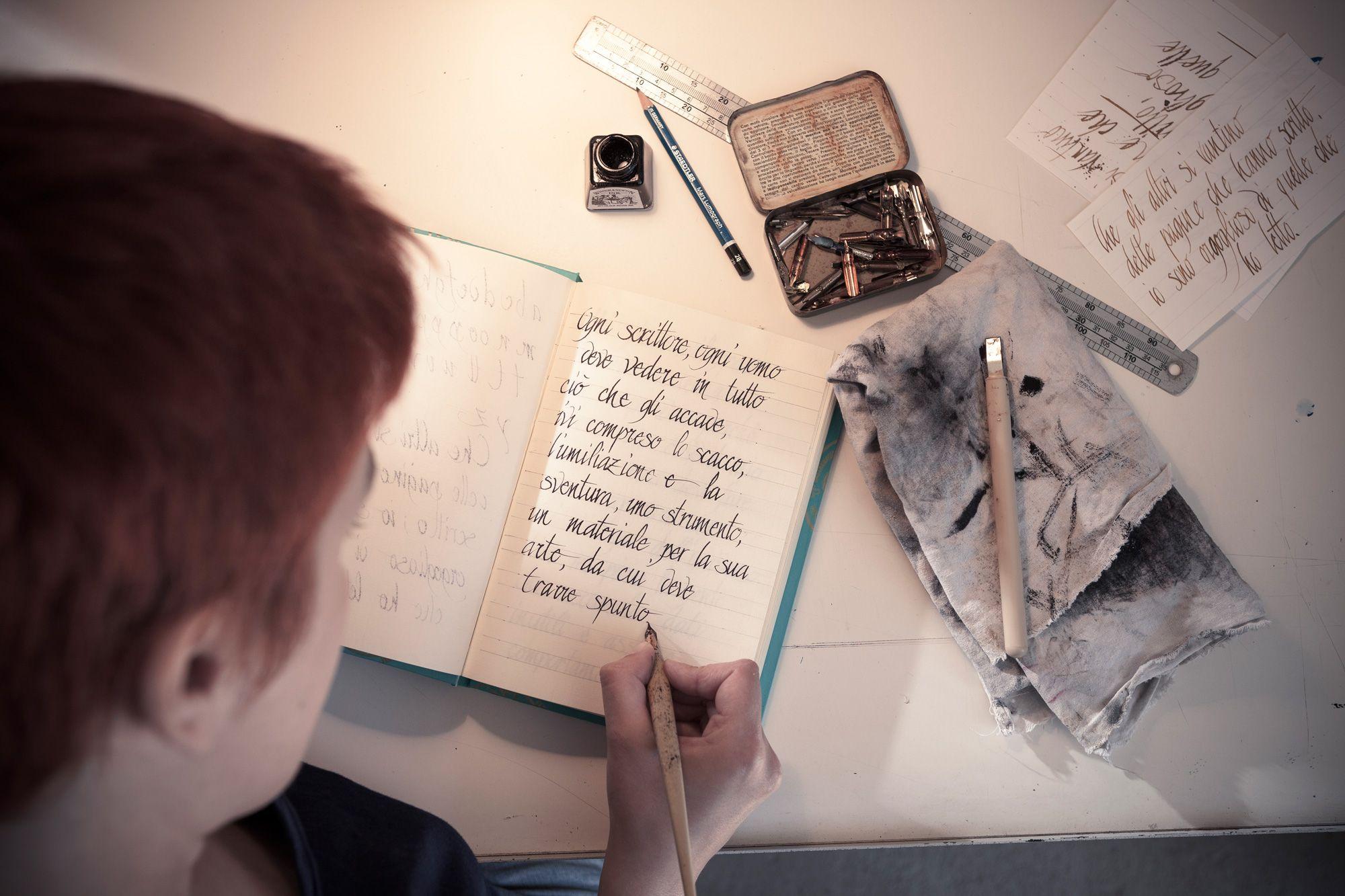 Pennini, inchiostro, straccio e parole!