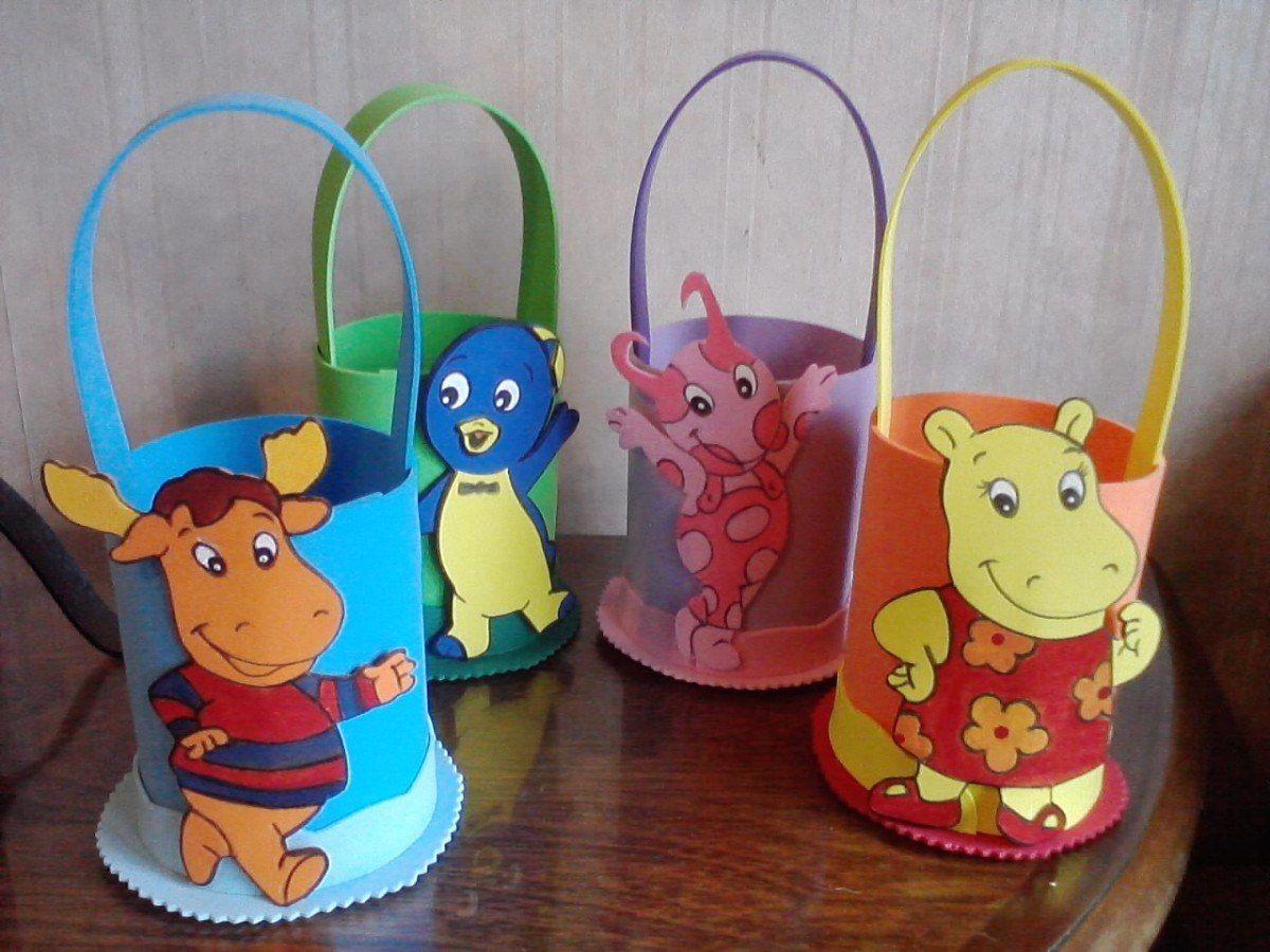 articulos para decoracion de fiestas infantiles en goma