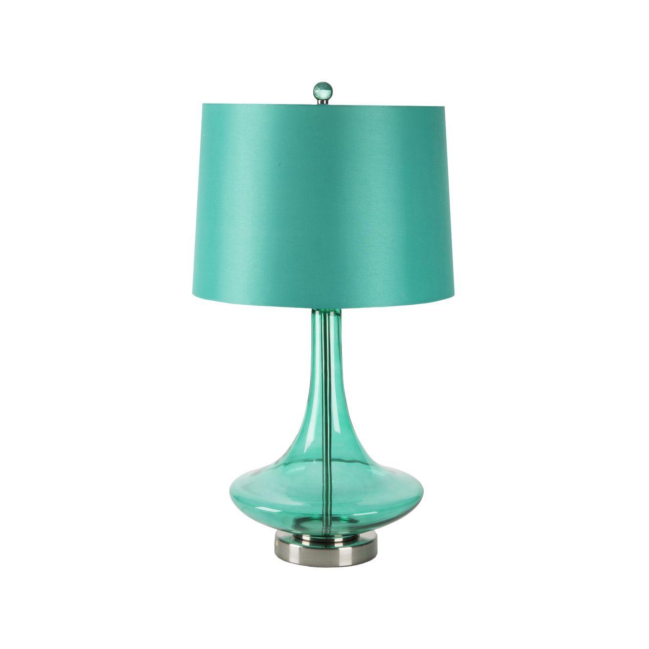 Halima Lamp in Green   dotandbo.com