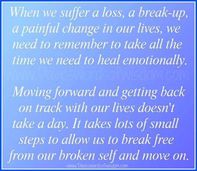Daveswordsofwisdom.com: Getting Yourself Back On Track