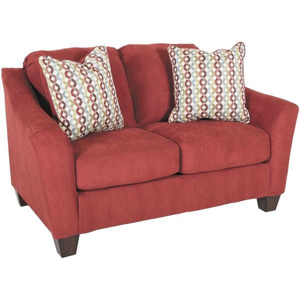 The Hannin Spice Red Loveseat By Ashley Furniture Spices