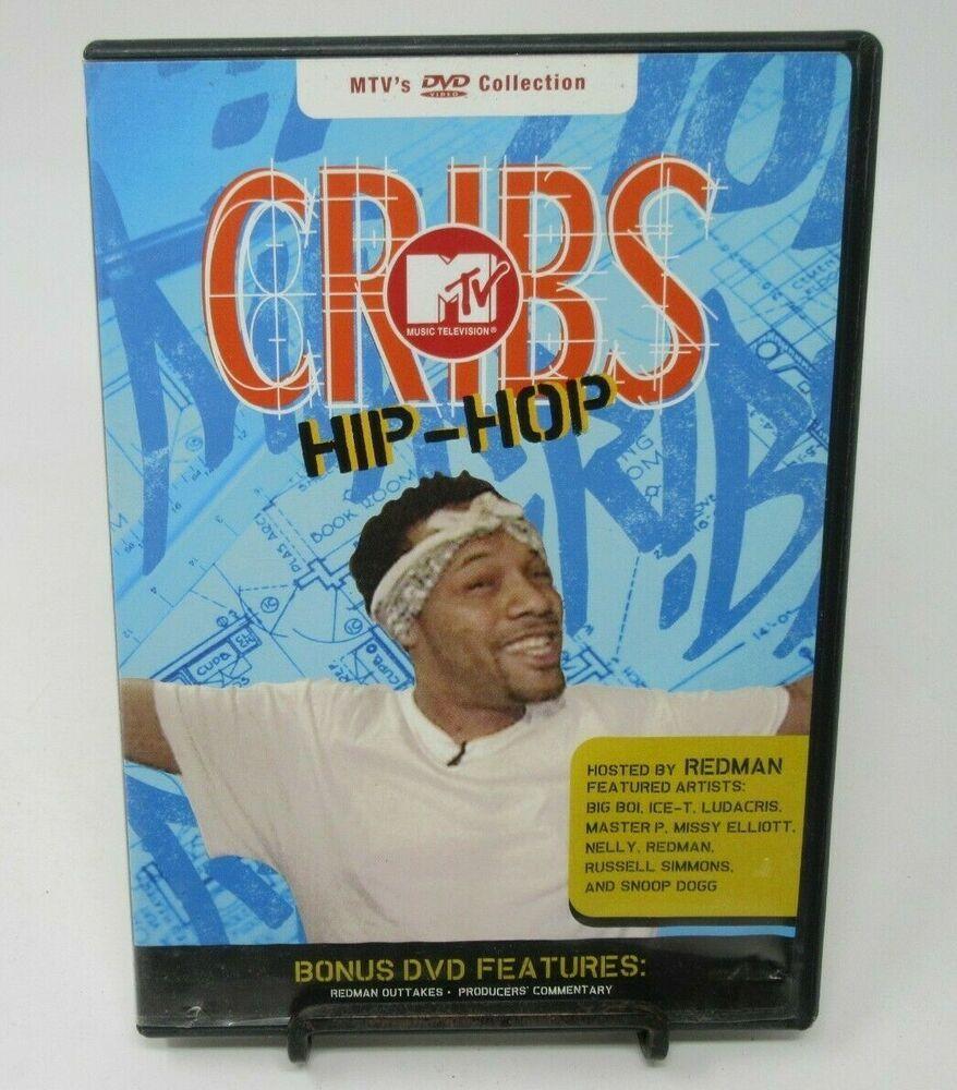 Mtv Cribs Hip Hop Dvd Ice T Ludacris Missy Elliott Snoop Dog Host Redman Ludacris Snoop Dog Mtv