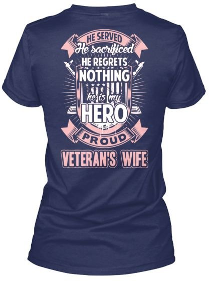 Proud Veteran's Wife