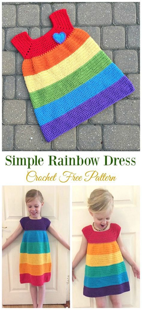 Photo of Crochet Girls Dress Free Patterns & Instructions