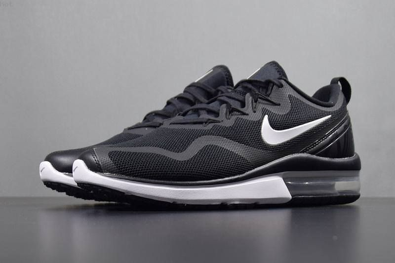 newest d43c8 47b98 Nike Air Max Fury AA5739-001 Black White Men s Running Shoes NEW! Fury Nike  Air