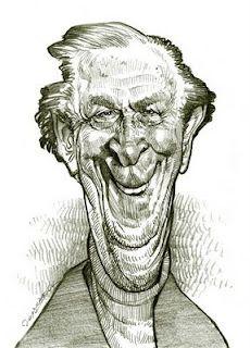 Artist:Jan Op De Beeck   Caricature:Bob Kane