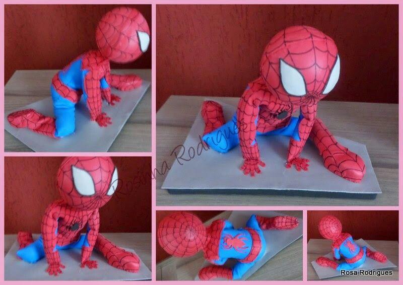 Boneco do homem aranha