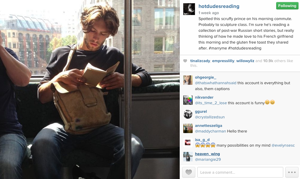 hotdudesreading on Instagram