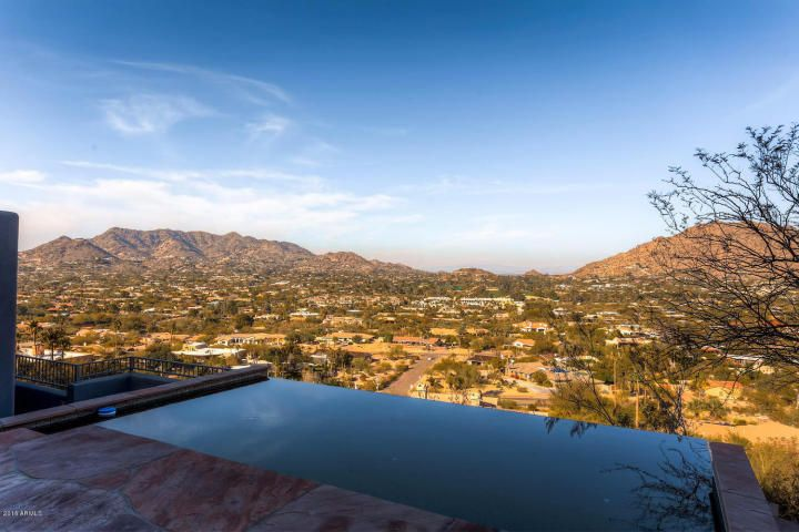 Off Market Paradise Valley Territorial Santa Fe Style Home On Top