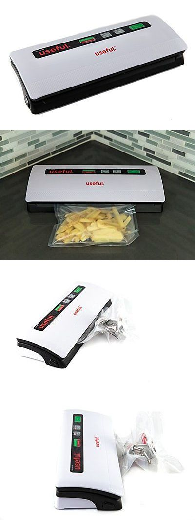 Other Fish Processing Cooking 179992: Useful Uh-Vs140 Vacuum Sealer Bag Sealing System -> BUY IT NOW ONLY: $69.99 on eBay!