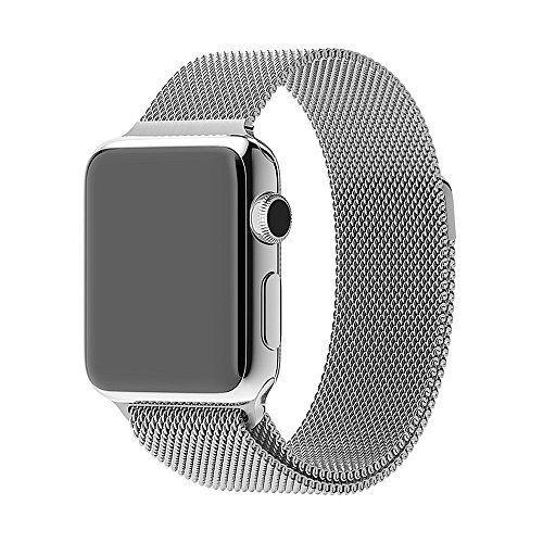 42 Mm Apple Watch Milanaise Edelstahl Armband Magnet Verschluss Luxus Uhrenband Strap Genius Edelstahl Armband Apfeluhr Apple Watch Zubehor