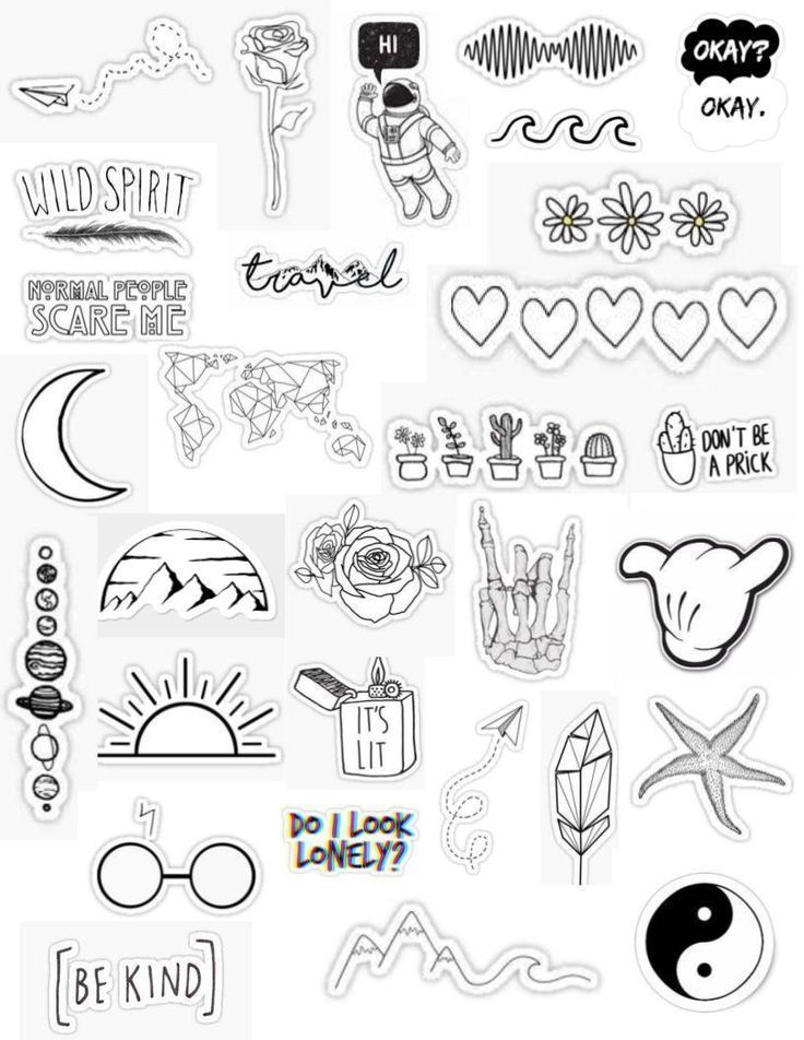 quitter Facebook in 2020 Black and white stickers