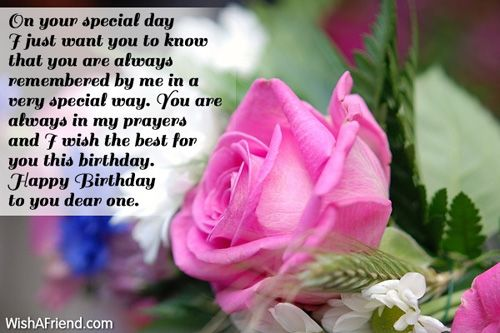 Happy Birthday Images To Someone Special