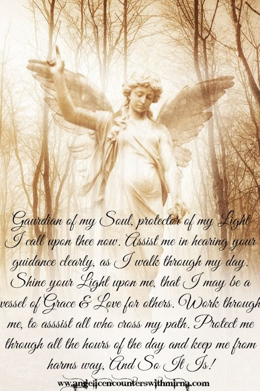 d1516f5625db3 Guardian Angel Prayer Www.mirnasangels.com/readings/ | Spells ...