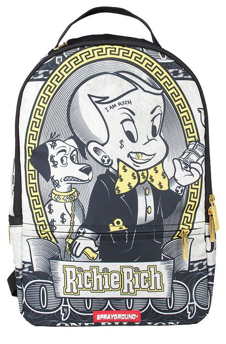914b4a18bea The Richie Rich Backpack | cool | Backpacks, Backpack bags, Richie rich