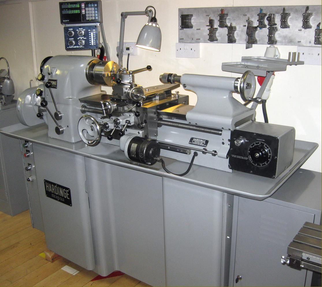 hardinge hlv h lathe toolroom lathes in 2019 lathe machine rh pinterest com