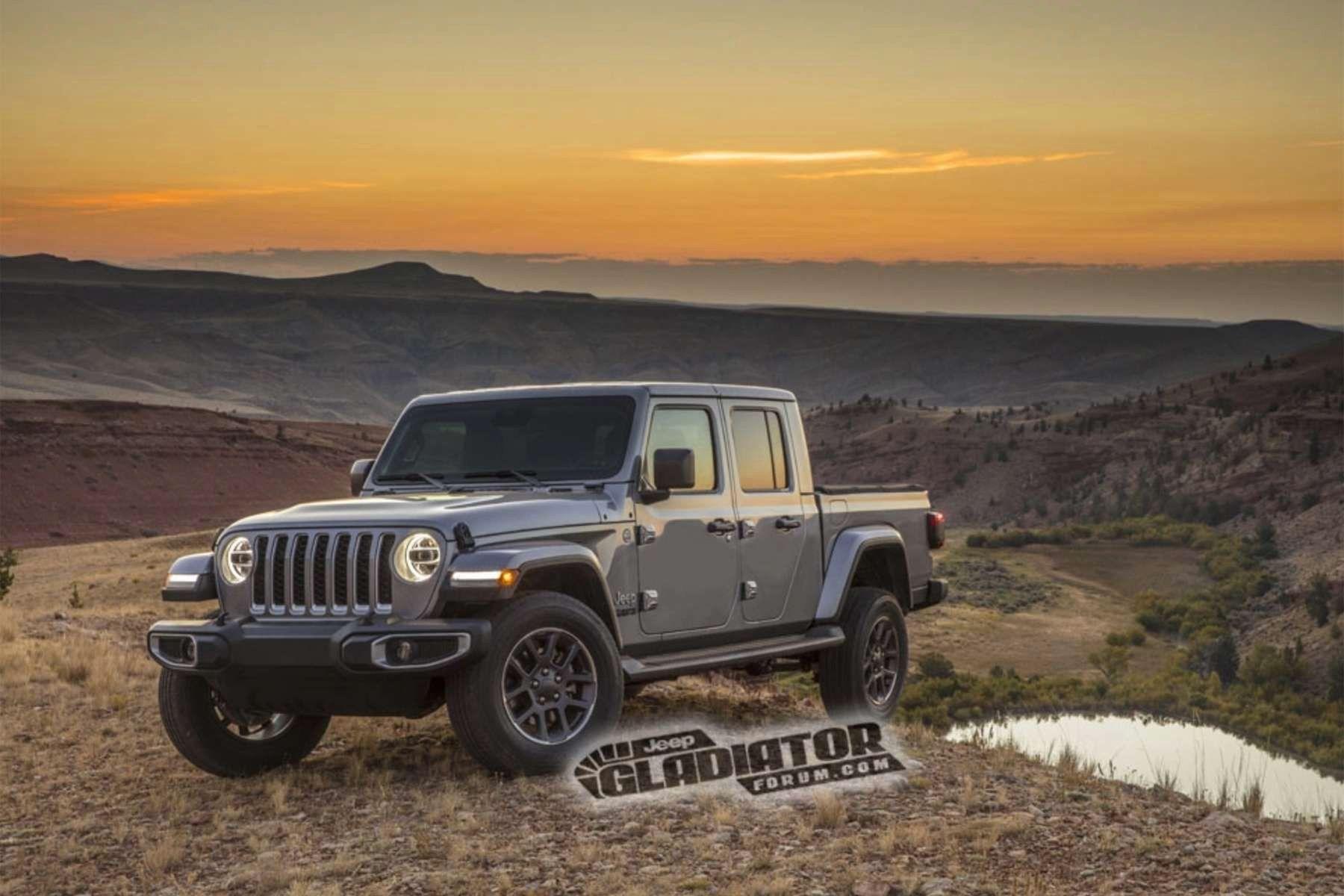 Jeep Truck Live Reveal Today Jeep Gladiator Wrangler Pickup Jeep Wrangler Pickup