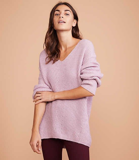 933b3c9ae4a Shop LOFT for stylish women's clothing. You'll love our irresistible Lou &  Grey Chevron Tunic Sweater - shop LOFT.com today!