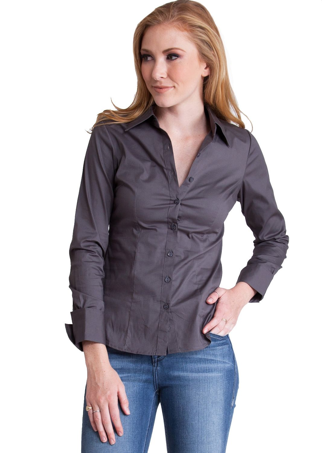 Tailored Long Sleeve Shirt T2936ch Clothing Clothes Womens Clothing Jeans Tops Womens Dress Long Sleeve Shirts Clothes For Women Shirt Sleeves [ 1500 x 1067 Pixel ]