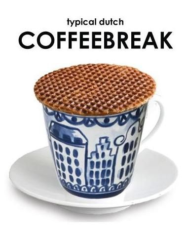 Image result for dutch stroopwafel coffee