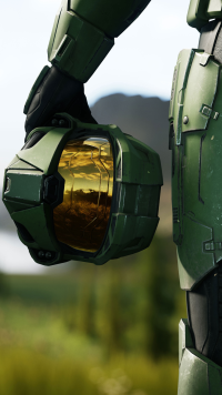 Video Game Halo Infinite Halo Mobile Wallpaper Halo Combat Evolved Halo Backgrounds Halo Master Chief