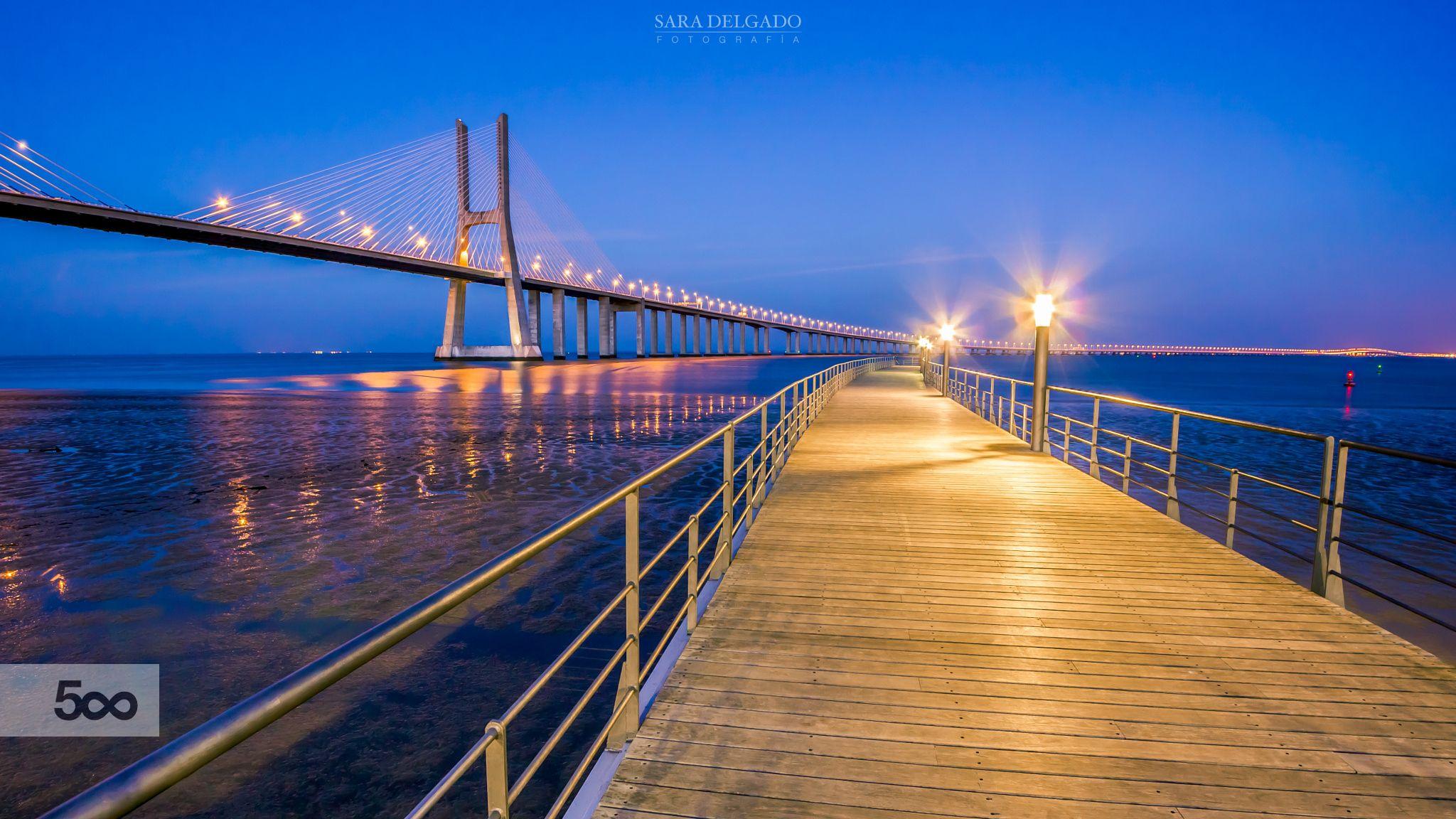 Anochecer en Lisboa by Sara Delgado on 500px