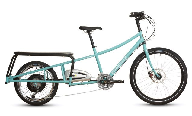 Xtracycle Edgerunner Xtracycle Bike Transporting Cargo Bike