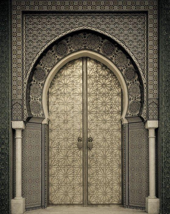 Ancient Doors Morocco Wall Mural Pixers We Live To Change