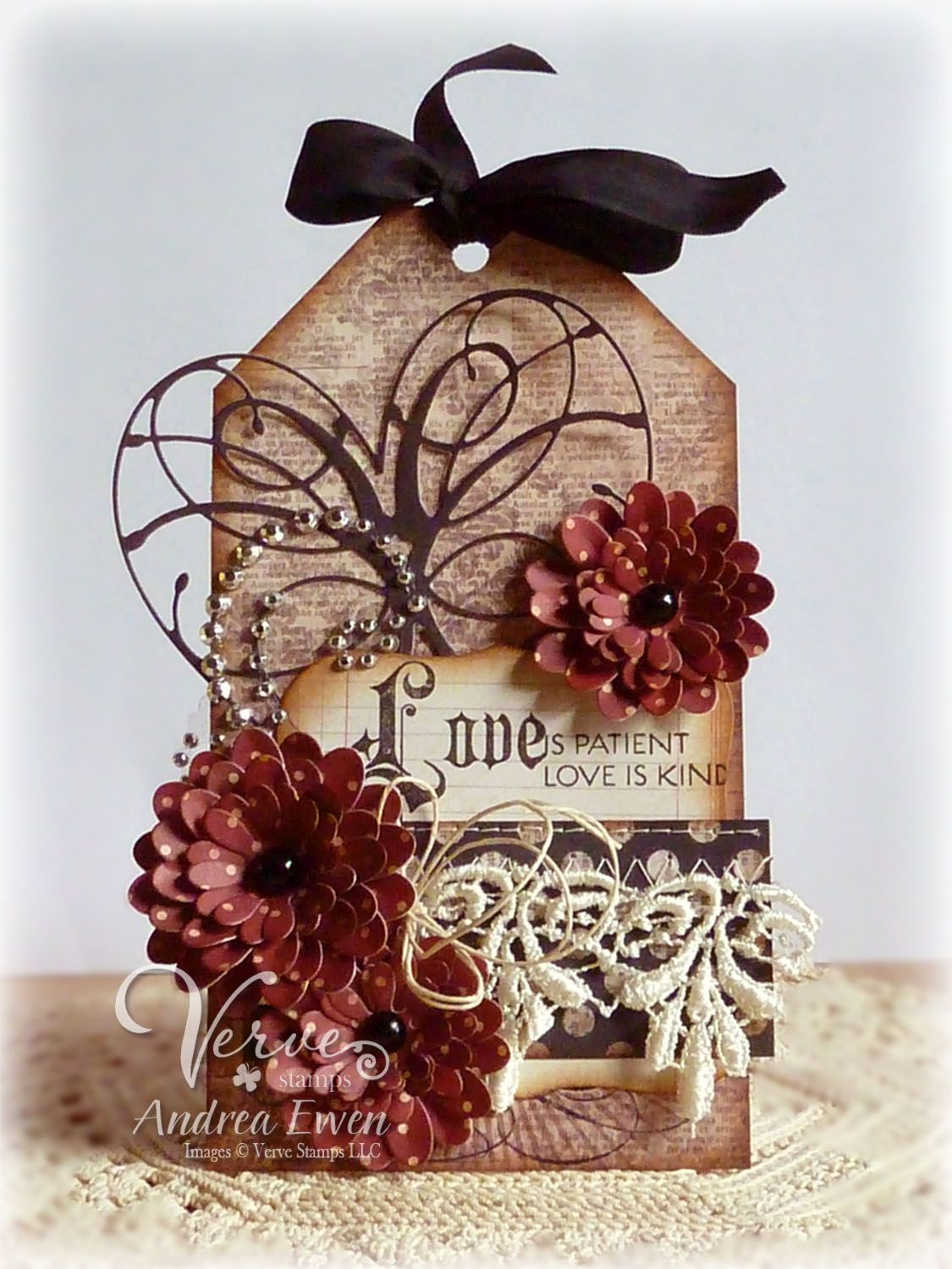 Love is Patient Tag - Scrapbook.com | Valentine & Love Card ...