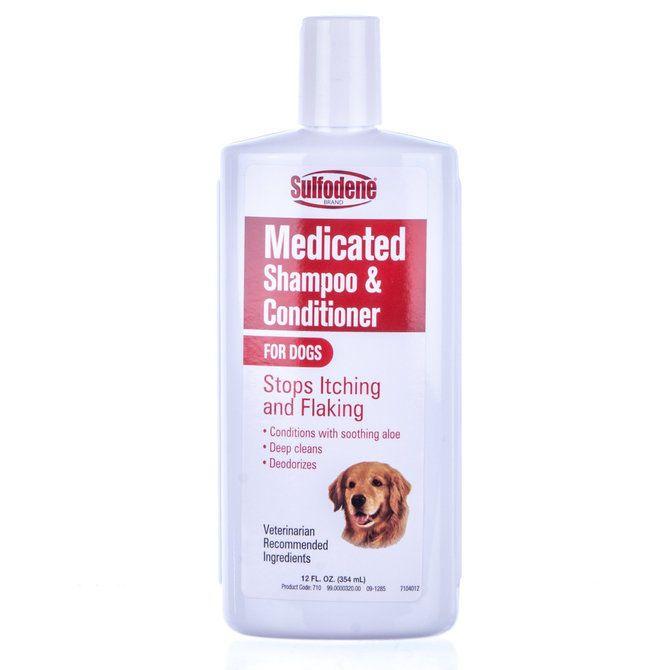 Sulfodene Medicated Dog Shampoo Conditioner Coal Tar Sulfur