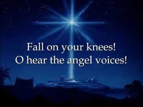 O Holy Night - Martina McBride with Lyrics - YouTube | Holy night lyrics, O holy night ...