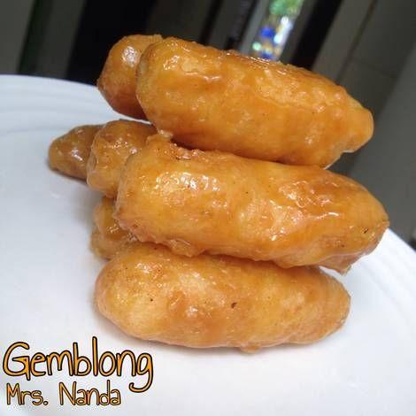 Resep Gemblong Getas Oleh Mrs Nanda Recipe Food Sausage Meat