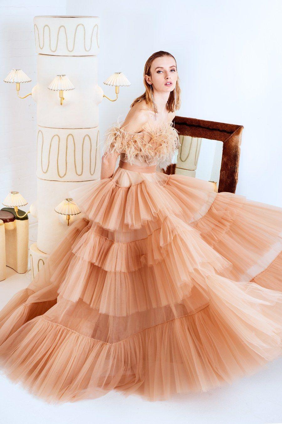 Christian Siriano Pre Fall 2020 Fashion Show Ball Gowns Gowns Christian Siriano