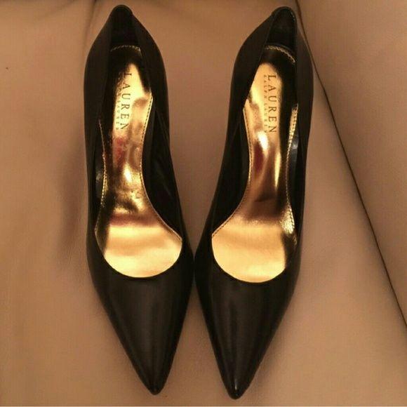 Ralph Lauren Black Ralph Lauren shoes great condition Ralph Lauren Shoes