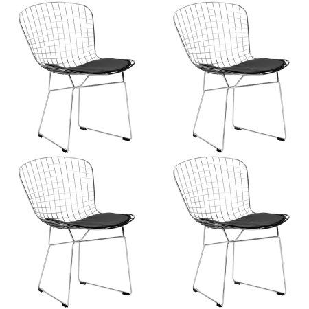 Fantastic Home Products Wire Dining Chairs Side Chairs Wire Chair Bralicious Painted Fabric Chair Ideas Braliciousco