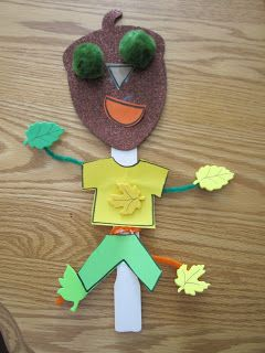 Toddler Approved!: Acorn Man! Silly acorn puppet for kids.