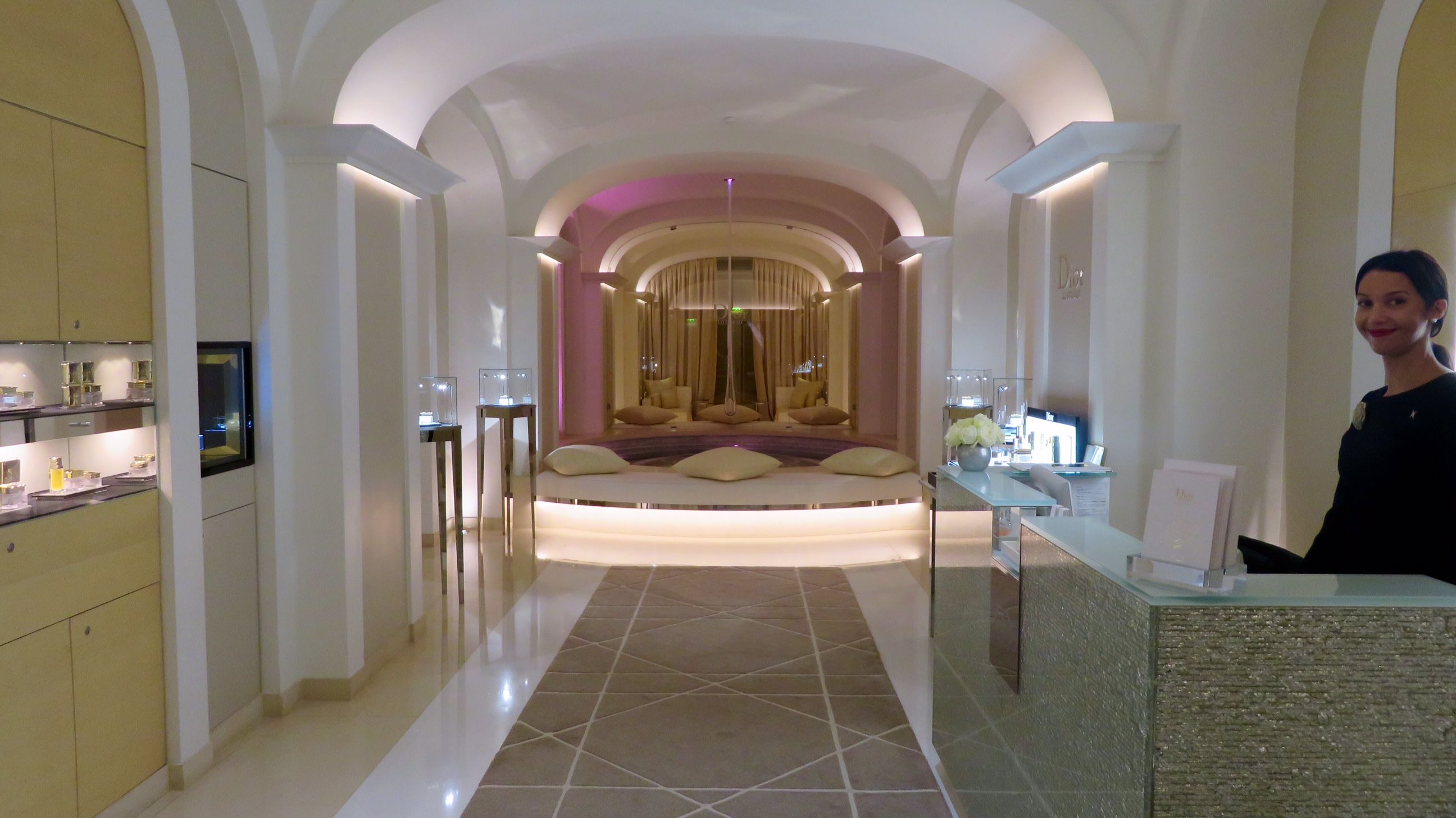 For the ultimate in spa treatments christian dior at plaza athenee hotel in paris